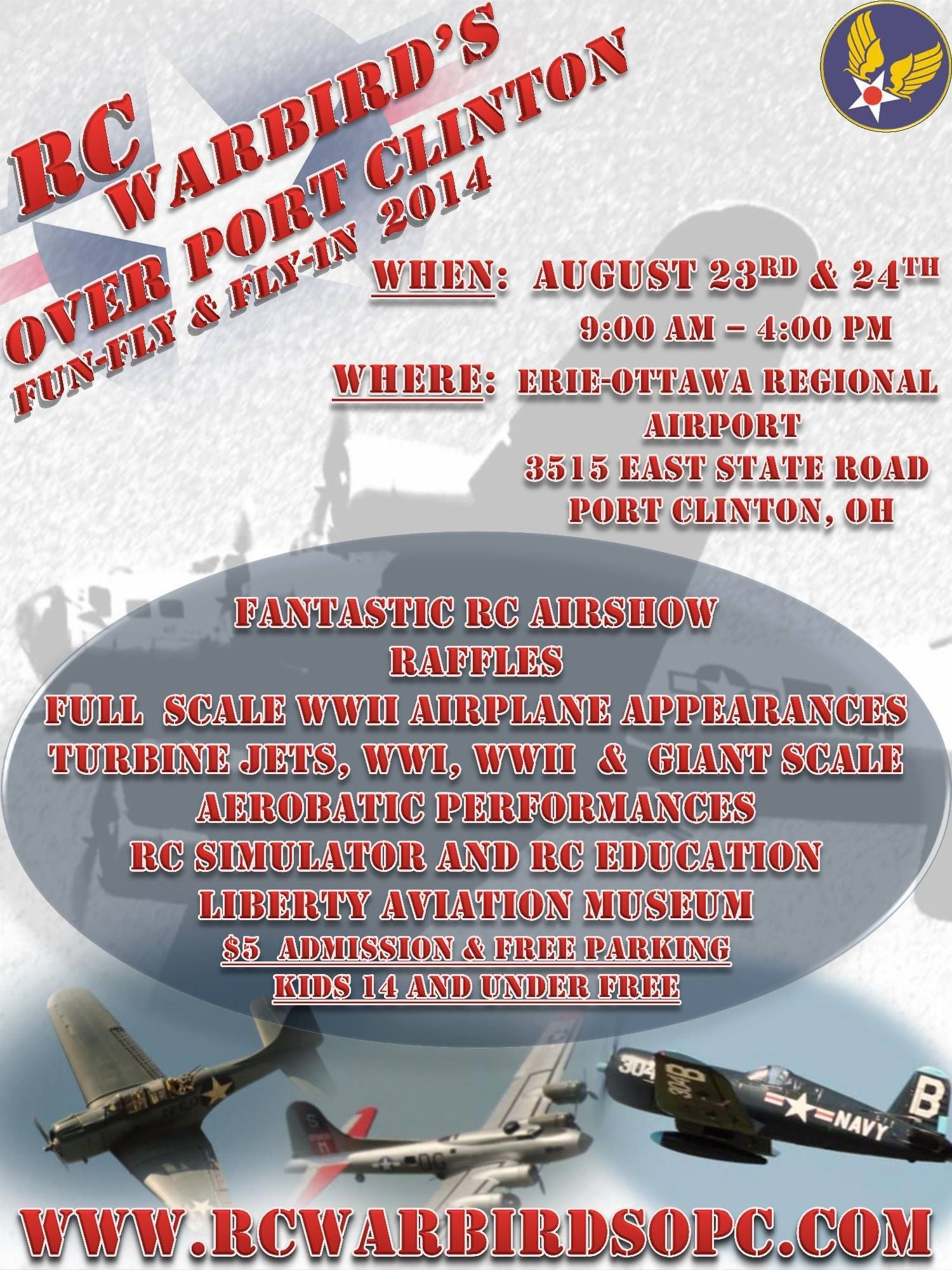 Pin on Events at the Liberty Aviation Museum
