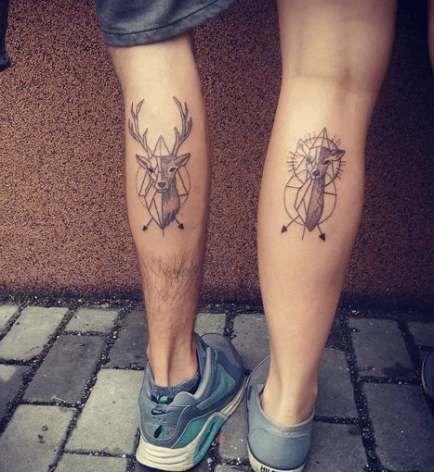 Tattoo Couple Wolf 17+ Ideas #tattoo