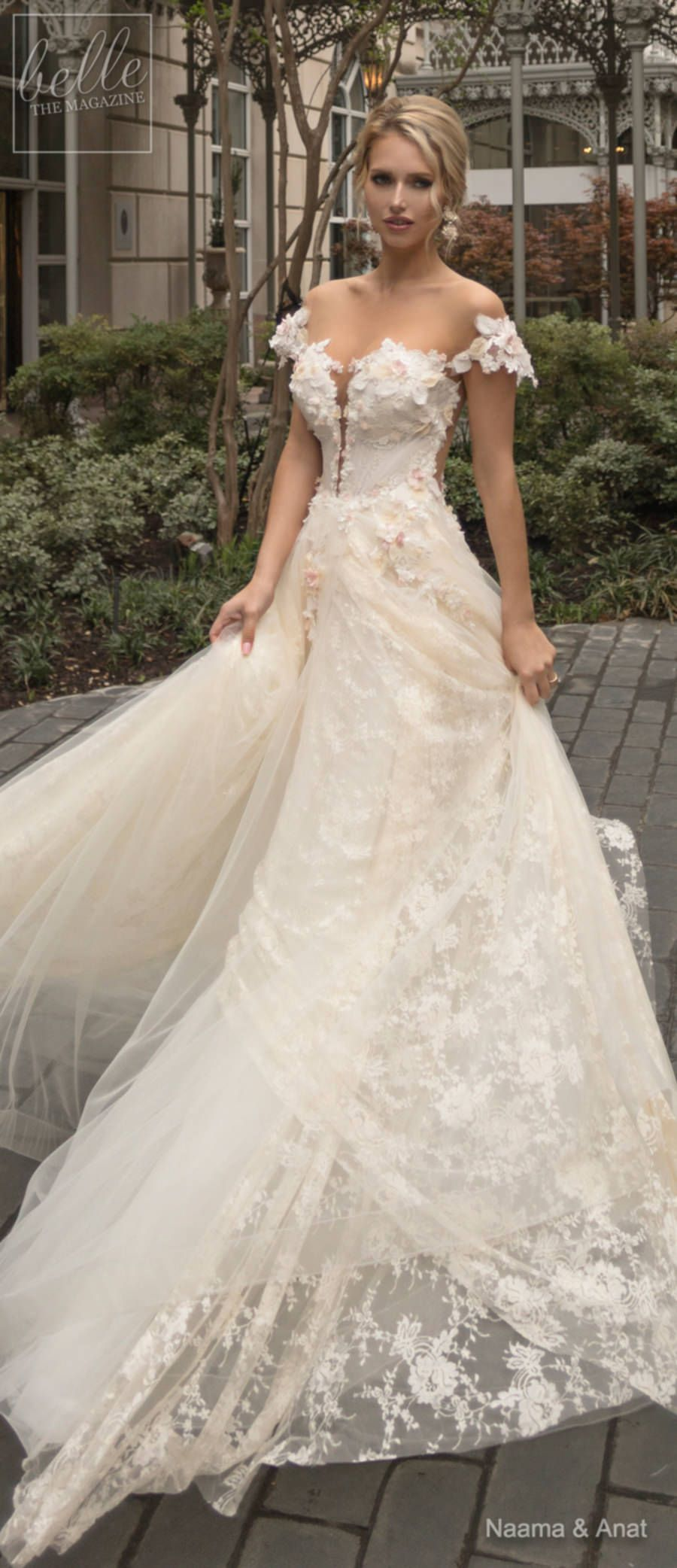 Naama and Anat Wedding Dress Collection 2019: Dancing Up the Aisle ...
