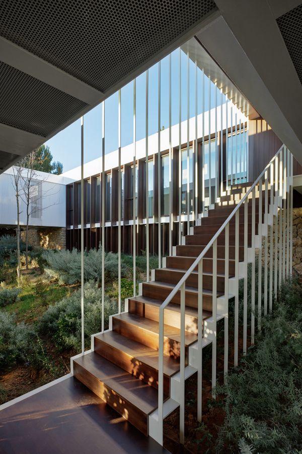 Arquitectura Casas Escaleras Exteriores Arquitectura: Casa BF En Castellón, De Carlos Ferrater (OAB)