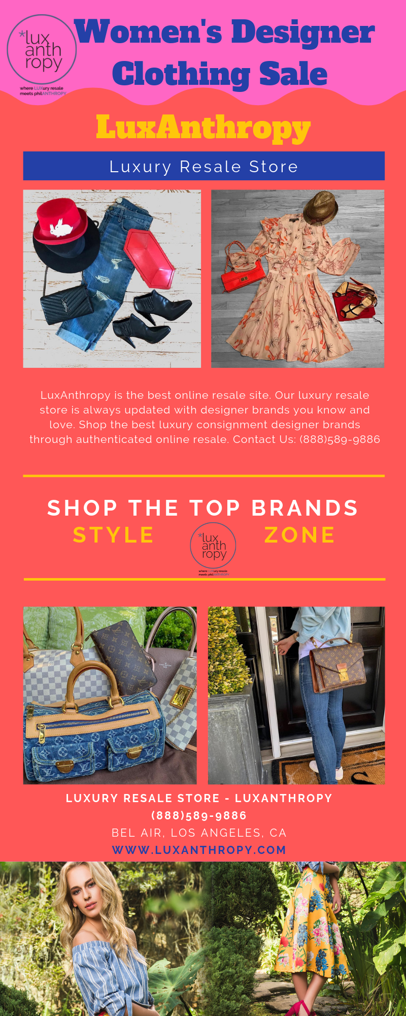 Shop The Top Brands On Sale At Luxanthropy Com Seeking For Women S Designer Consignment Or Online Designer Outfits Woman Designer Consignment Clothes For Sale