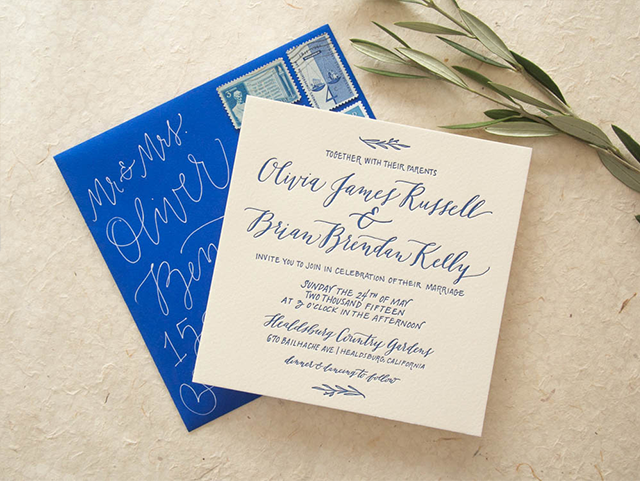 17 Best images about Envelopes – Wedding Invite Calligraphy