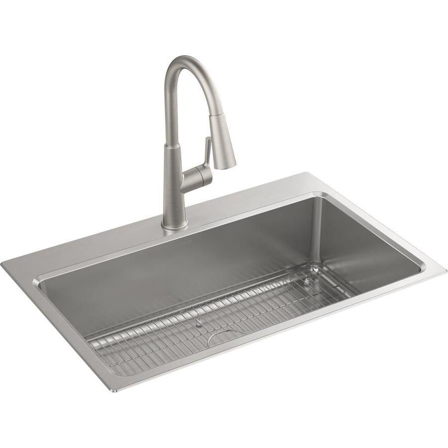 41+ Kohler black stainless steel farmhouse sink ideas