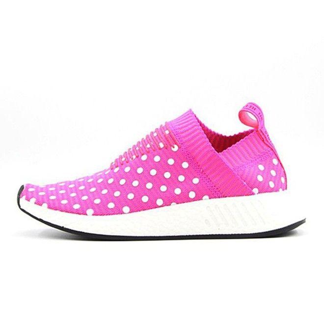 Adidas NMD City Sock CS2 mujeres Trainers Rosado punto de la onda Zapatos  para correr BA7213