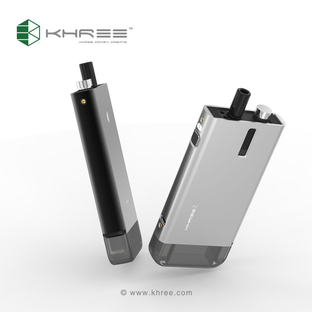 Khree Z, new modular starter kit, phone style vape mod