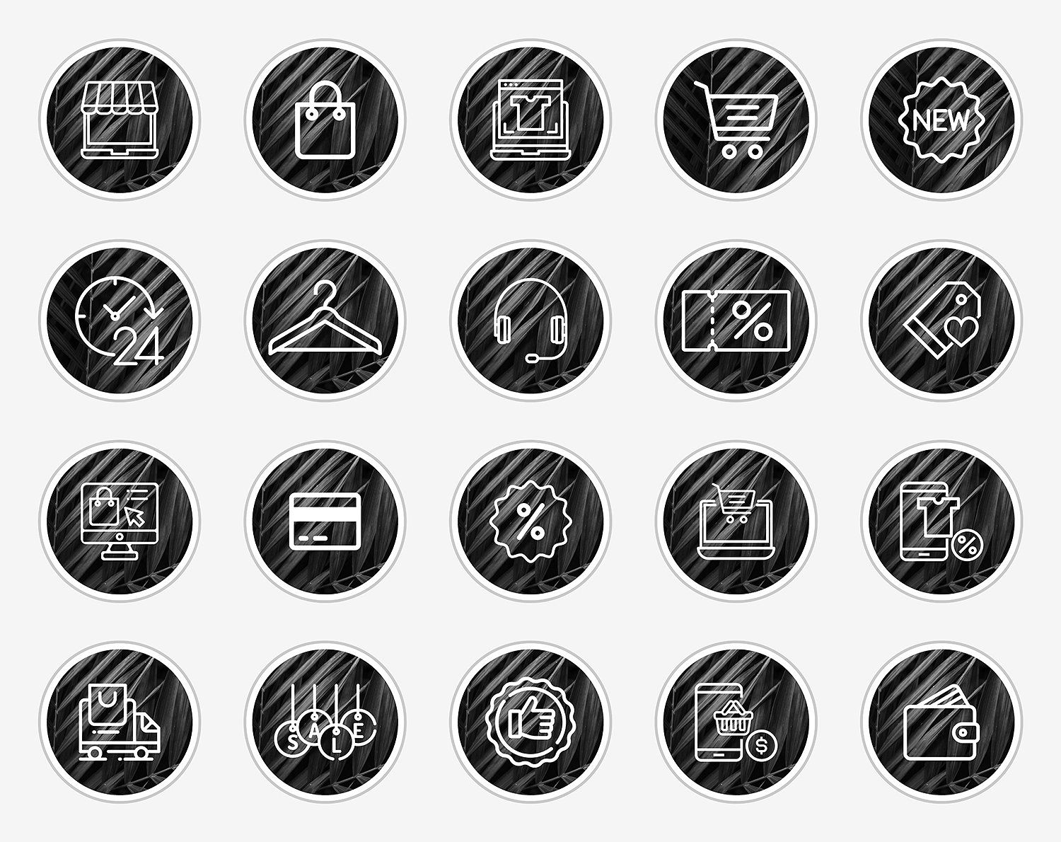 Shop Instagram Story Icons by North Sea Studio on ...