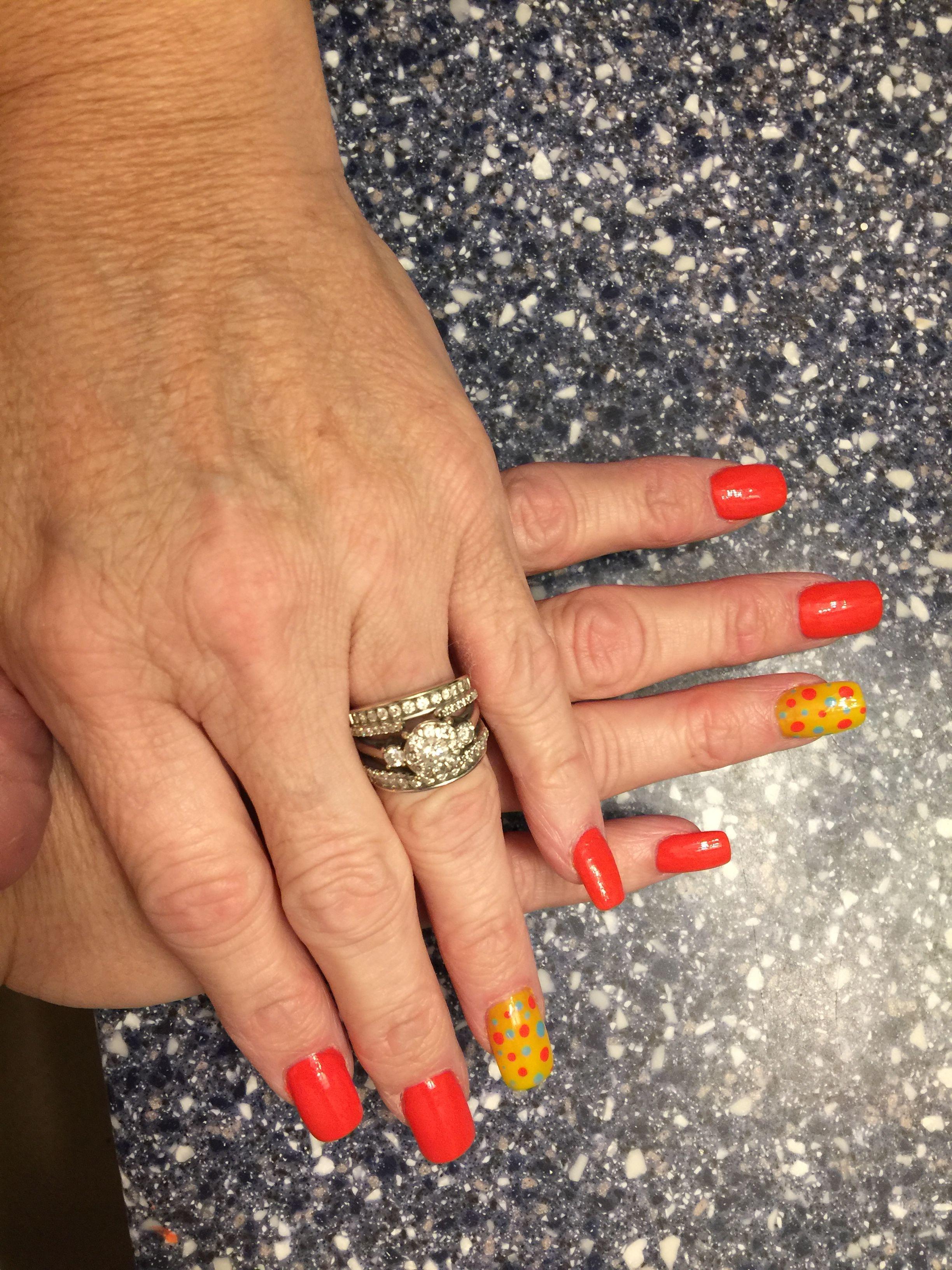 Fun summer nails | Nails | Pinterest