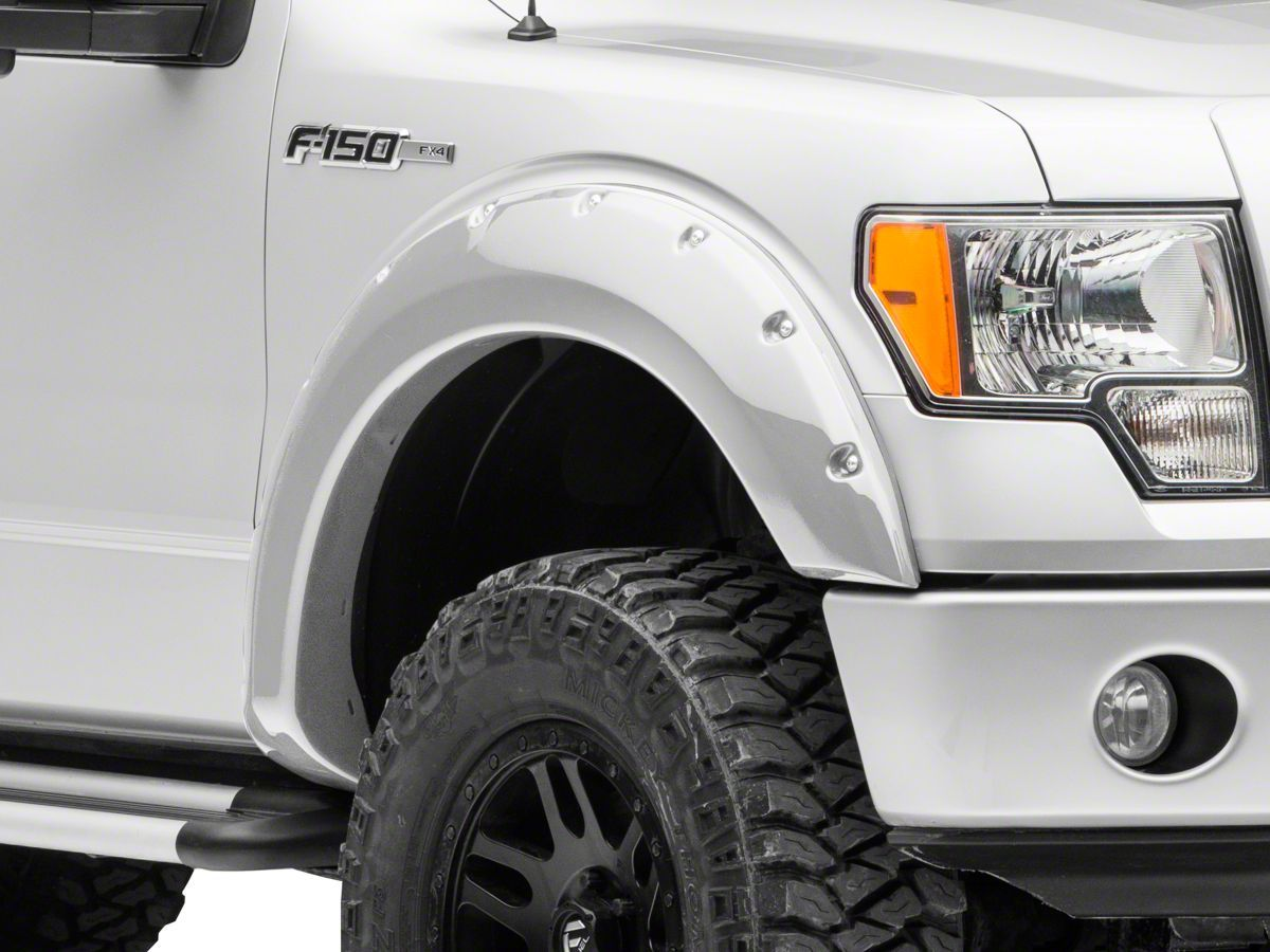 Redrock 4x4 F 150 Bolt On Look Fender Flares Color Matched T538883 09 14 F 150 Excluding Raptor Truck Accessories Ford Land Rover Fender Flares