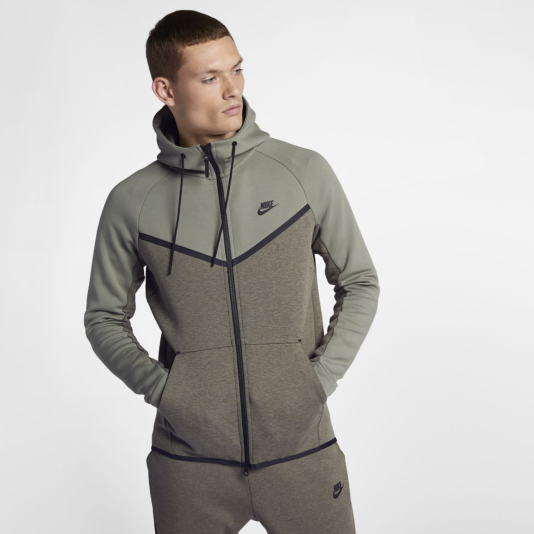 10214ce4d59b Nike Sportswear Tech Fleece Windrunner Men s Full-Zip Hoodie ...