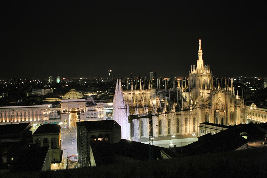 View from the Terrazza Martini, Milan Focus on Milan