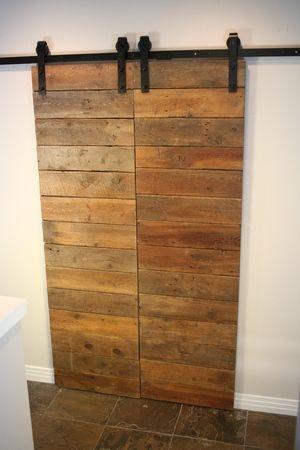 Handmade Custom Residential Furniture Design Barn Door Project