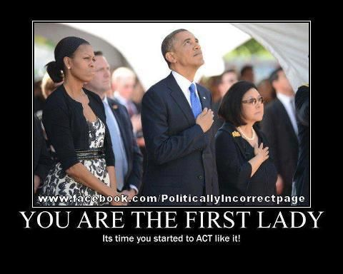 How disrespectful! Still not proud of our country?? Just another - michelle obama resume