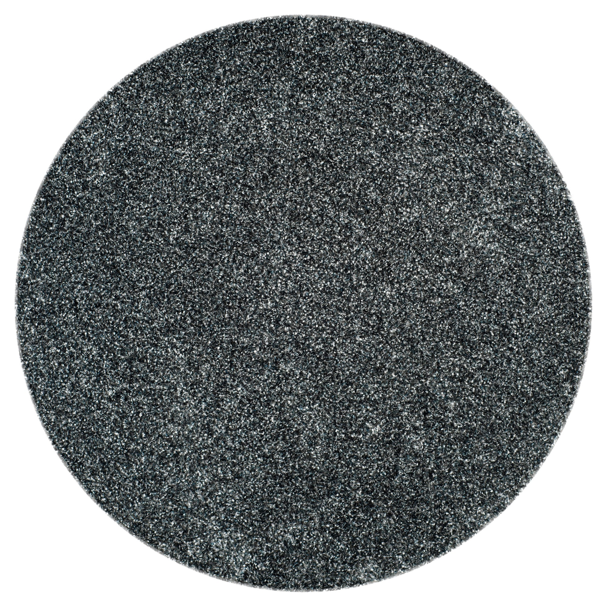 Charcoal Solid Tufted Round Area Rug 7 Round Safavieh