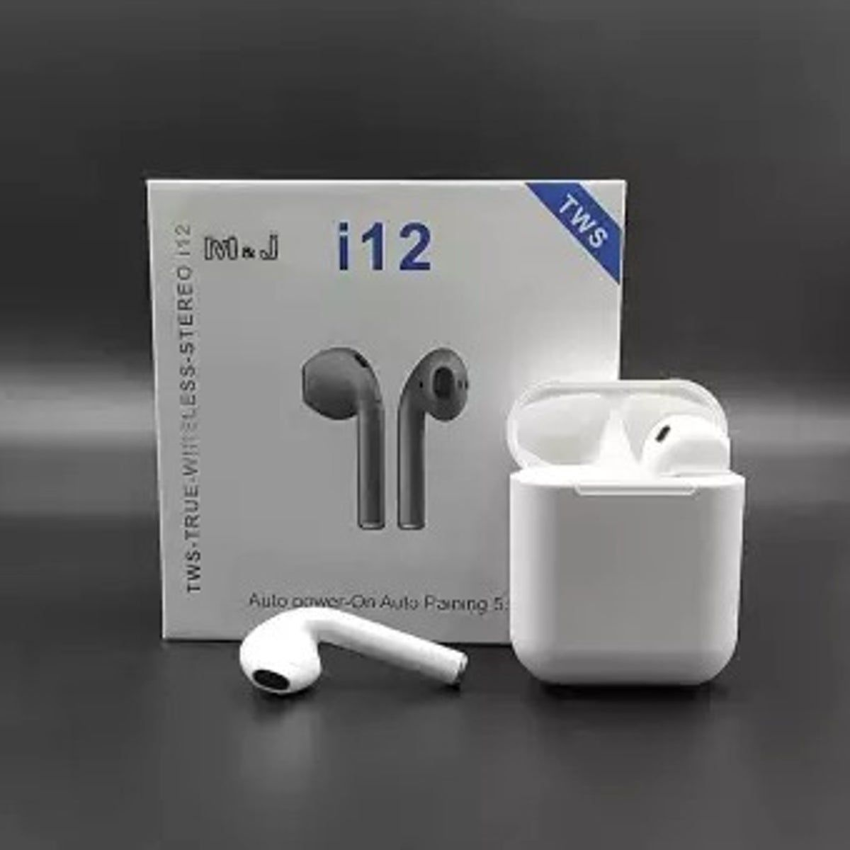 Tws I12 Airpods Bluetooth W White Case In 2021 Earbuds Wireless Earbuds Bluetooth