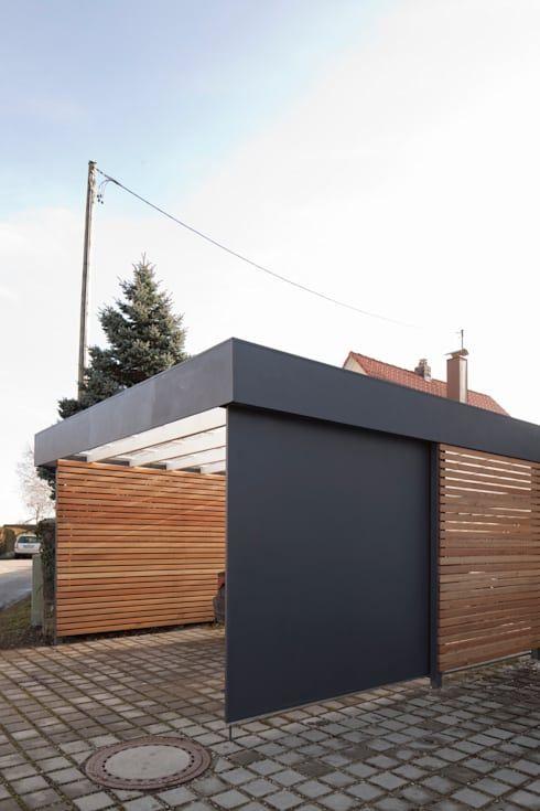 Moderner Carport carport architekt armin hägele car ports carport garage and