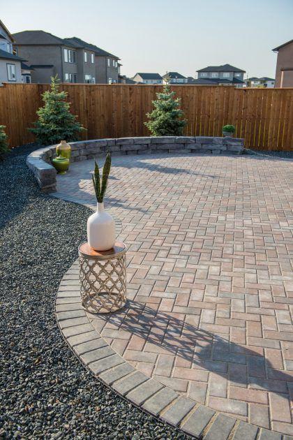 pavers backyard patio pavers