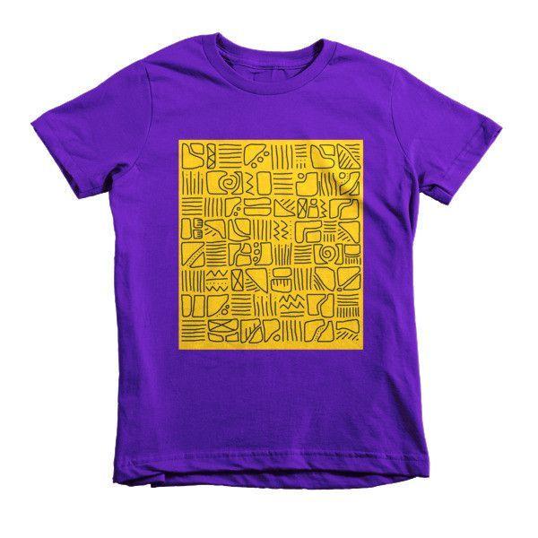 Pattern City Short sleeve kids t-shirt