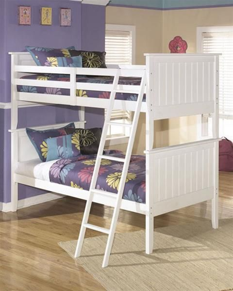 Ashley Furniture Lulu Bunk Bed White