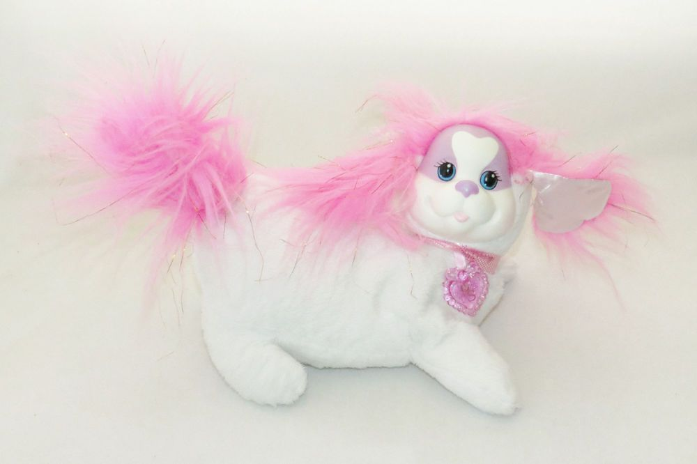 2014 Zoey Puppy Surprise White Pink Mommy Dog Plush Stuffed Toy Mama No Puppies #JustPlay