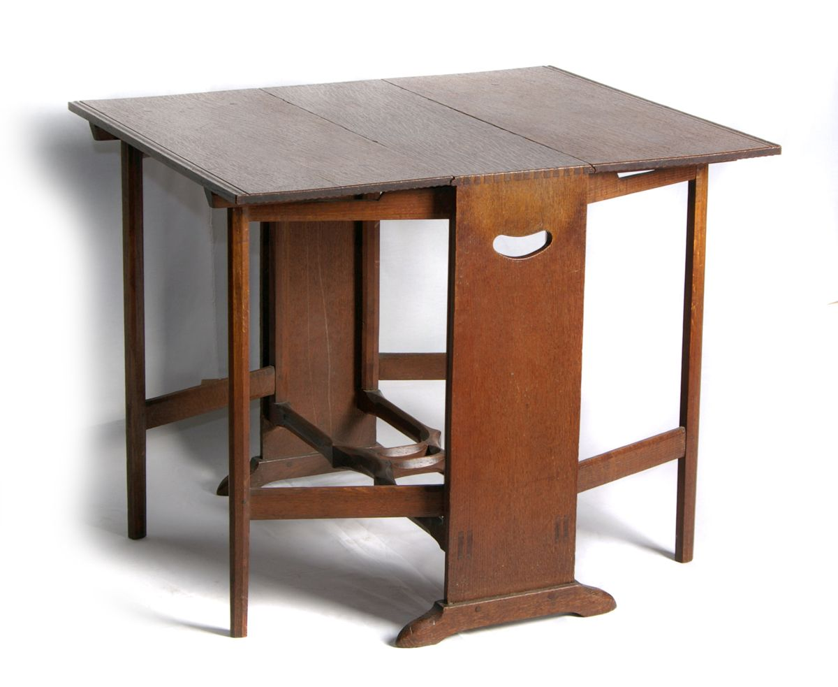 Oak Gate Leg Table by S Barnsley – Ernest Gimson and the Arts