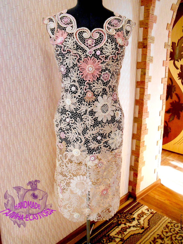 Платье ирландское кружево цены