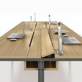 Se podr hacer algo as para ocultar los cables en la mesa for Pasacables mesa oficina