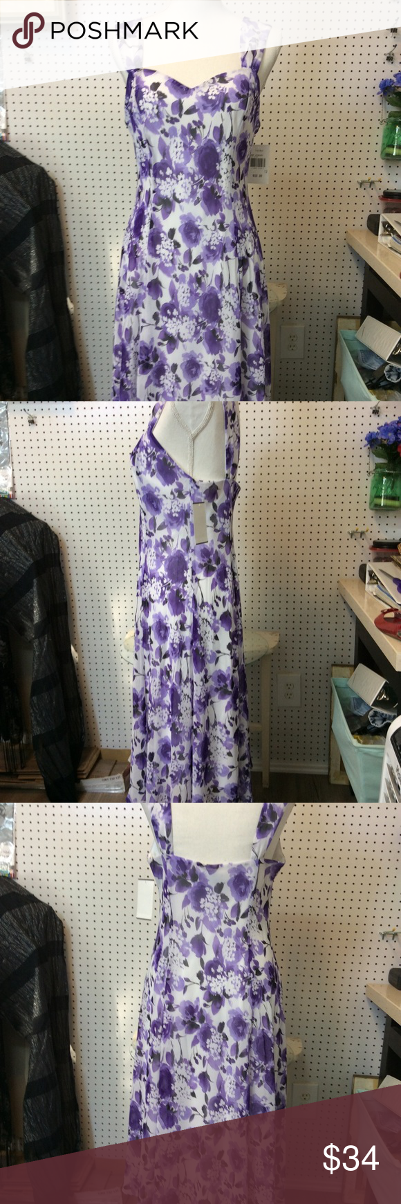 Connected Apparel by Fred Meyer SZ 12 Sundress NWT I