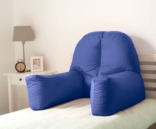 Details About Chloe Bed Reading Bean Bag Cushion Arm Rest Back