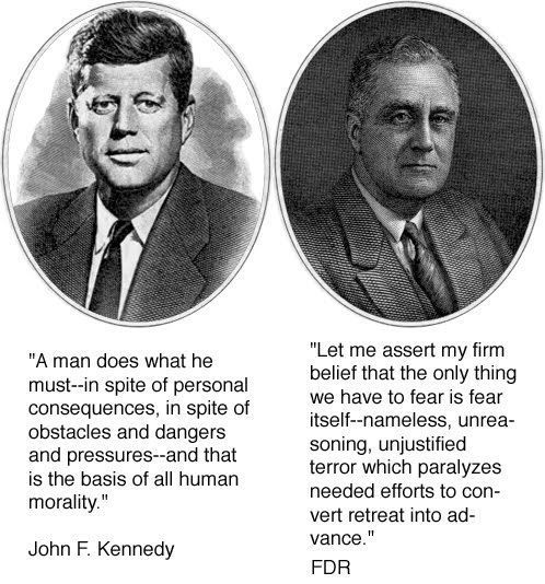 President Kennedy Asked Us To Ask Not What Your Country Can Do