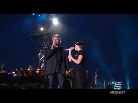 Da Brivido Thrill Elisa E Andrea Bocelli La Voce Del Silenzio The Sounds Of Silence