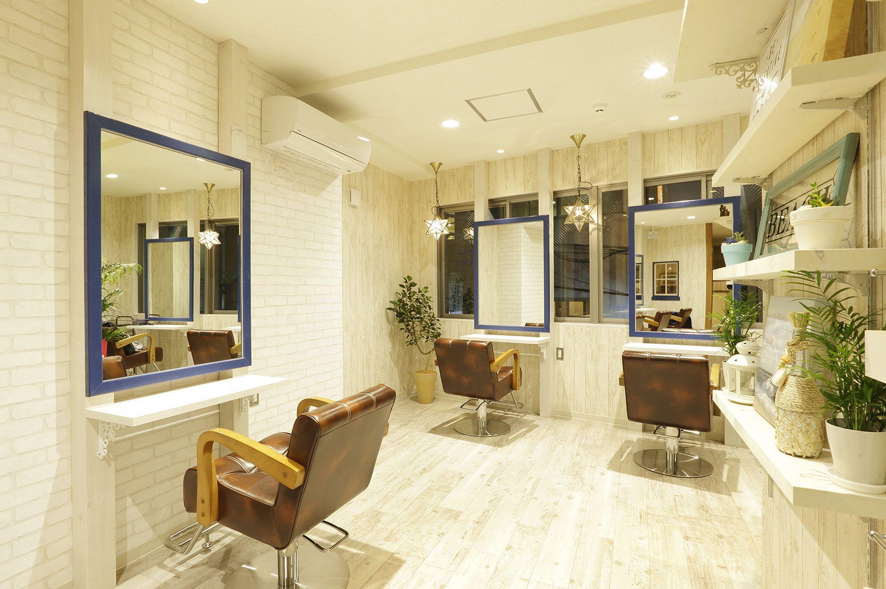 NaTur HAIR & GARDEN - Beauty Salon Interior Design  Salon