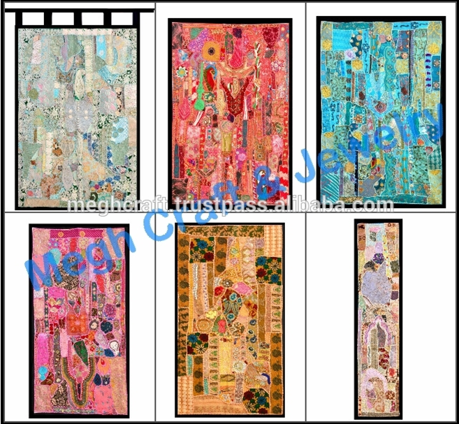 Vintage Patchwork Tapestry Home Decor TapestryCurtainbohemian