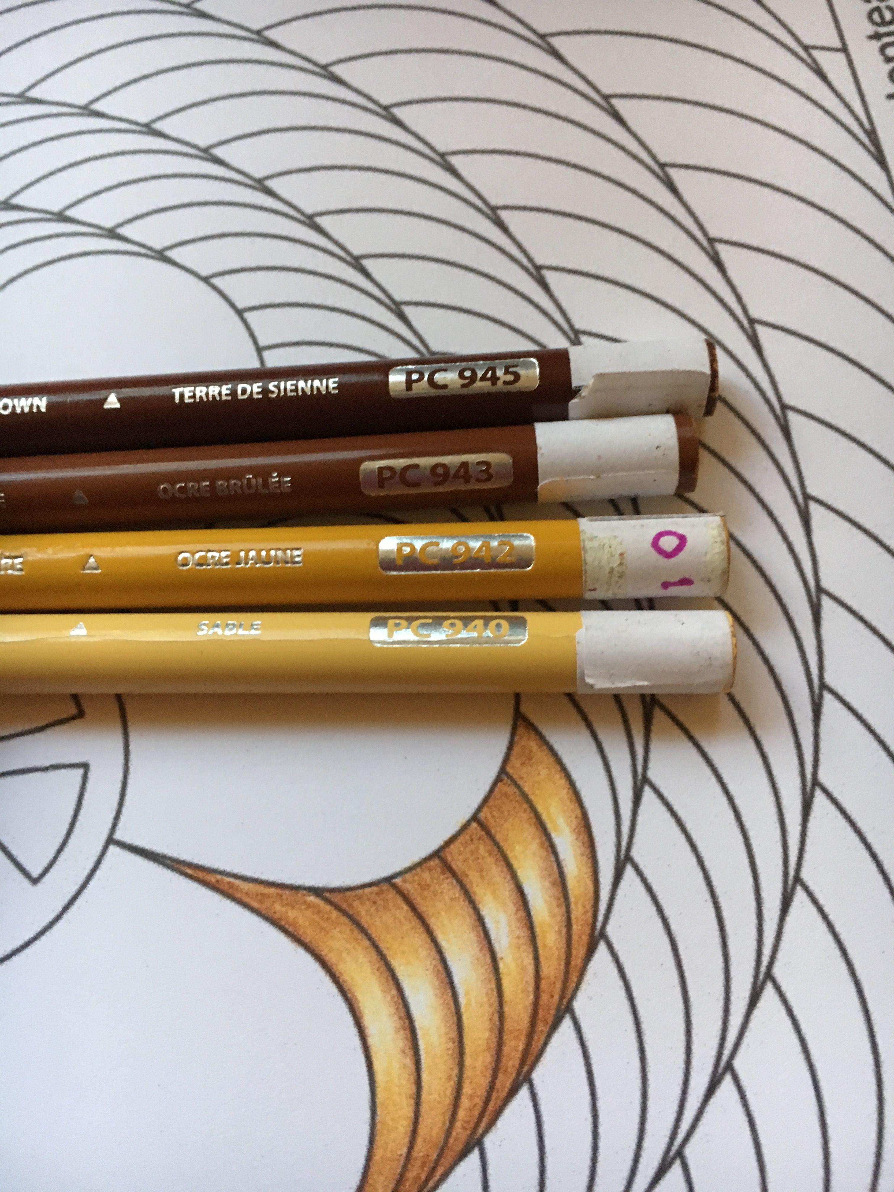Carolyn S Prismacolor Combination Gold