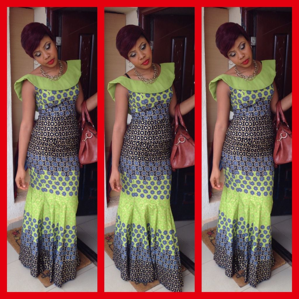African Dresses Ankara Long Gown Style Dezango Fashion