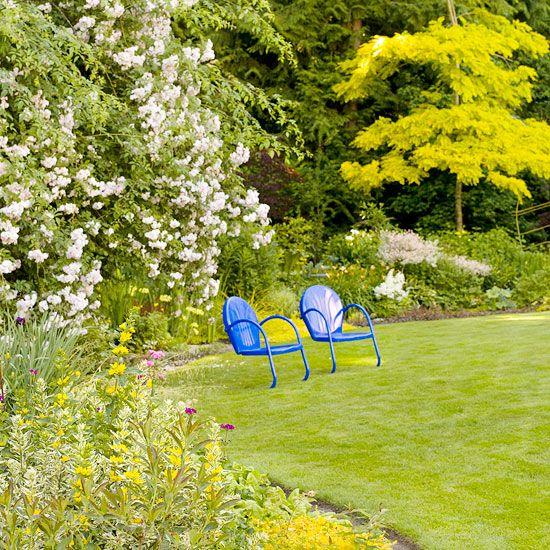 Blumen im Garten \u2013 Gartenideen für reizvolle und attraktive - garten blumen gestaltung