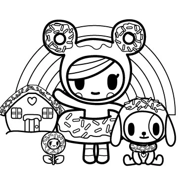 Pin By Catherine Genao On Drawings In 2020 Coloring Pages Tokidoki Tokidoki Unicorno