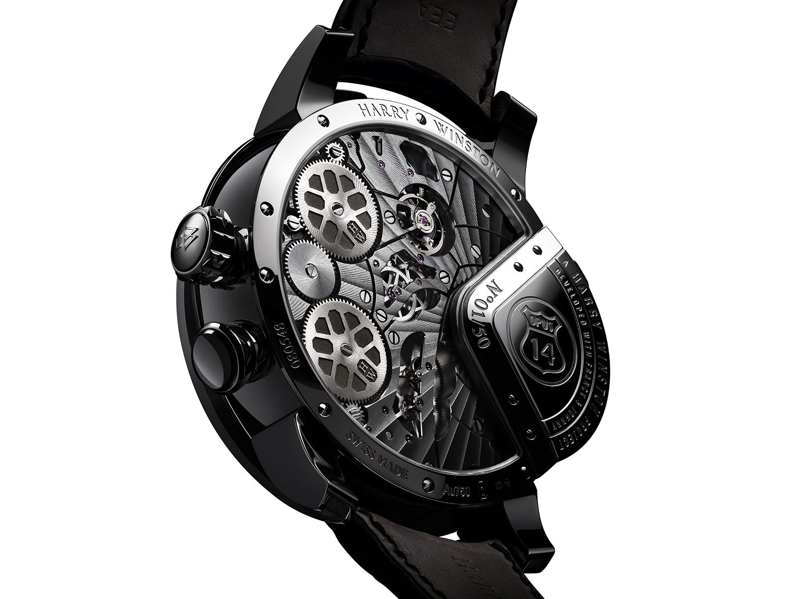 Watches By SJX: Harry Winston Introduces the Opus 14, Featuring a Jukebox Automaton Complication (with Pricing)
