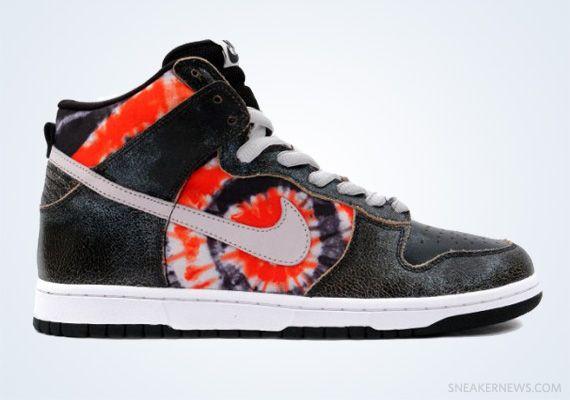 3802a35d HUF x Nike SB Dunk High