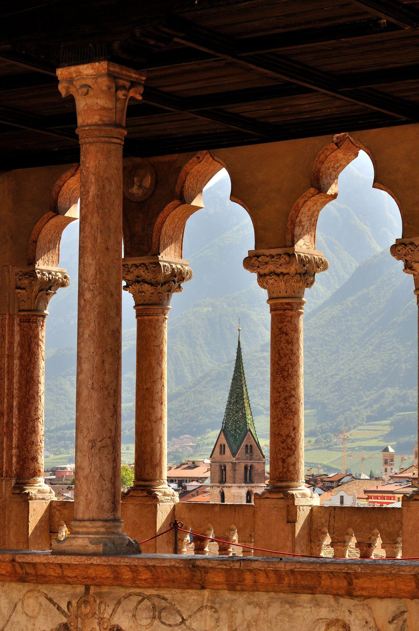 Trento Castello del Buonconsiglio Bei posti, Luoghi