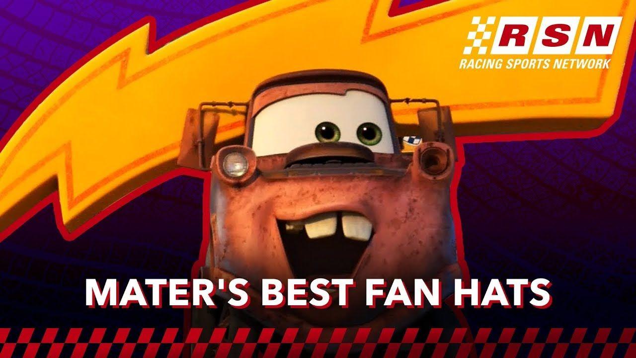 Mater S Best Fan Hats In Cars Racing Sports Network By Disney Pixar Cars Disney Pixar Cars Pixar Cars Best Fan