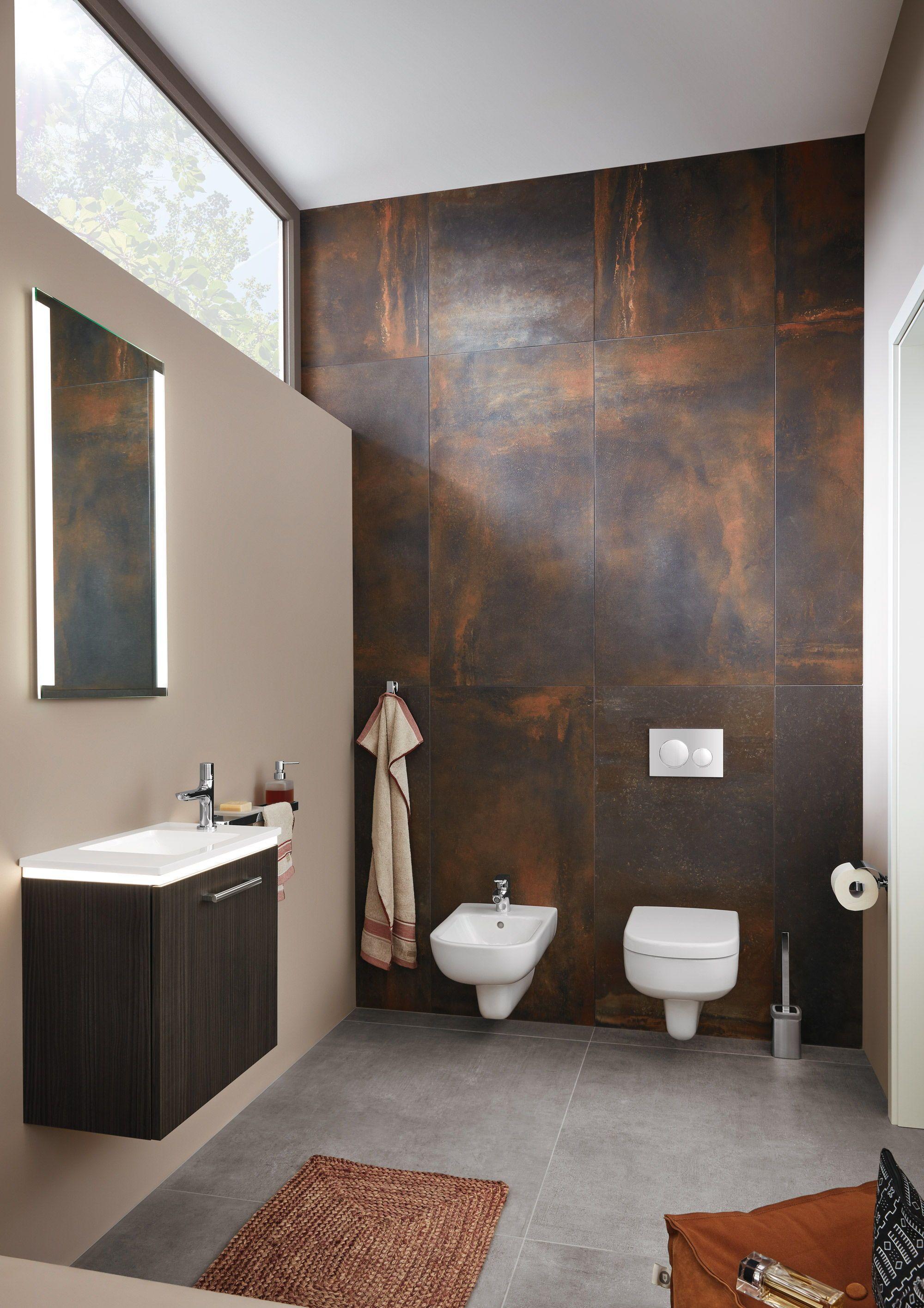 Mache dein Bad durch ungewöhnliche Farbgestaltung einzigartig! www