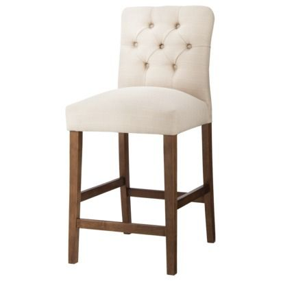 Threshold Brookline Tufted Counter Stool Counter Stools 24