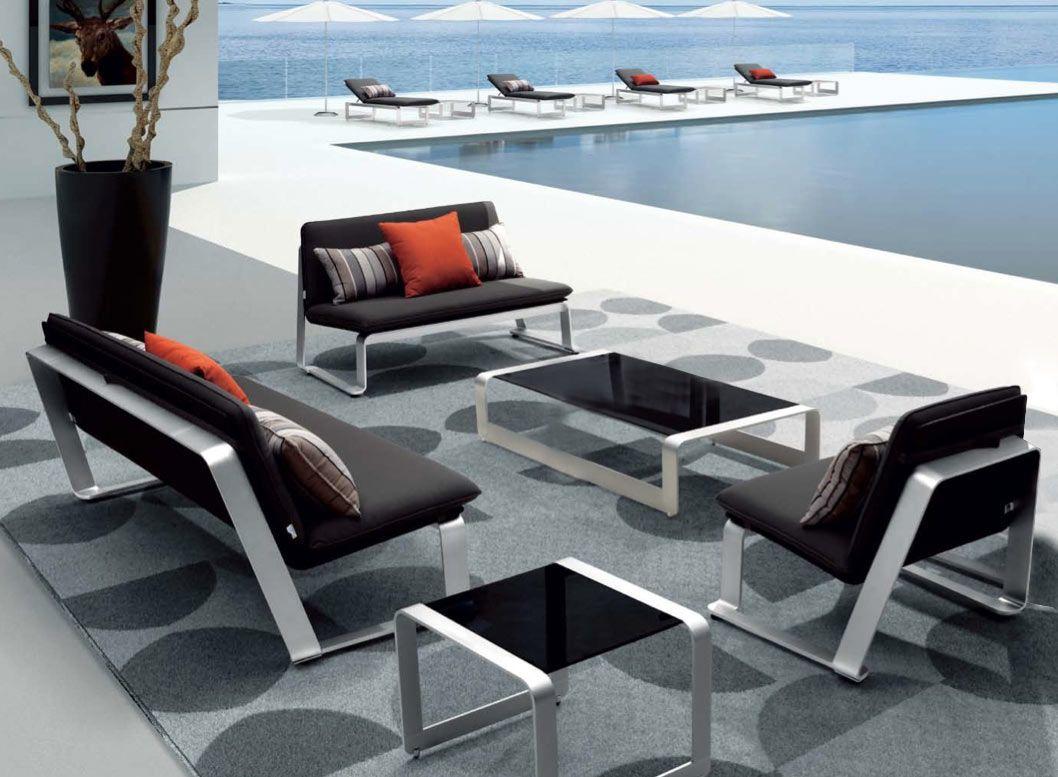 impressionnant salon de jardin aluminium soldes   Décoration ...