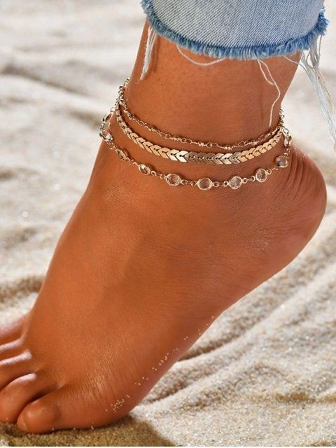 Initial Anklet Silver Ankle Bracelets for Women Mariner Chain Letter Anklet with Initials Cute Summer Anklets for Women Girls