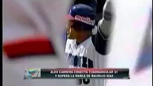 (Vídeo) Así atrapó el fanático el jonrón 21 de Álex Cabrera - Vìdeo Dailymotion