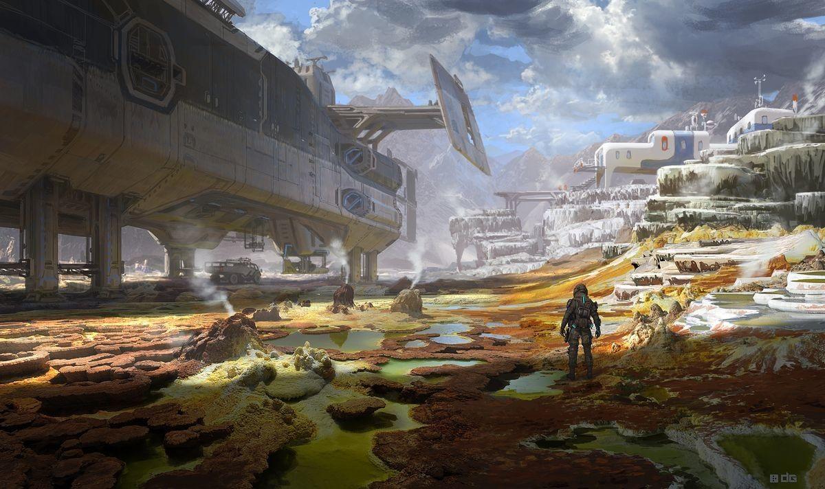 ArtStation - Titanfall 2 Various Natural Environments, Danny