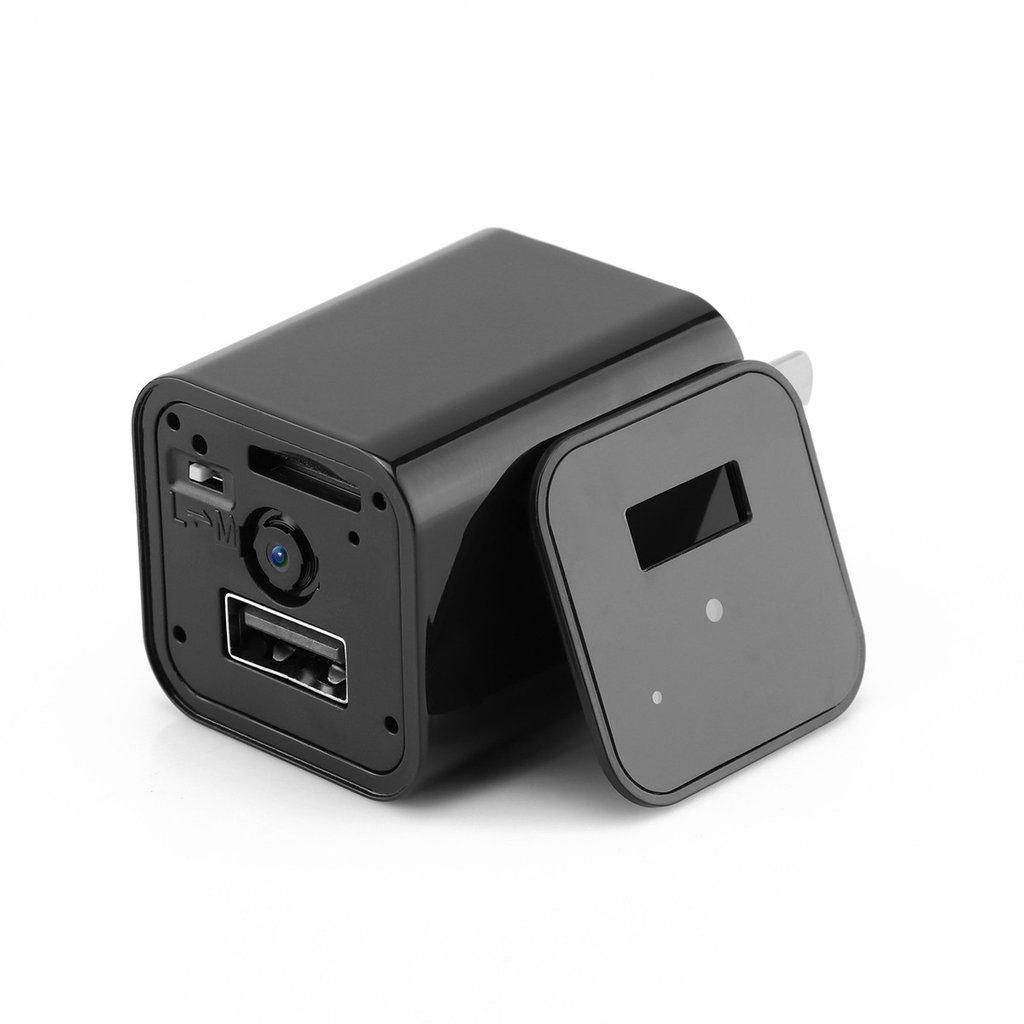 mini hd 1080p hidden camera usb wall charger home security on usb wall charger id=15416