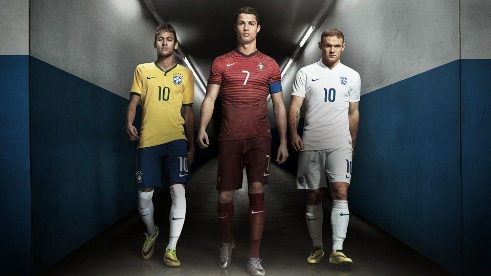 Campanha da Nike reúne os craques Neymar, Cristiano Ronaldo e Rooney em um único comercial!  Confira a campanha Arrisque Tudo que antecede a Copa do Mundo: http://comunicart.blog.br/2014/04/campanha-da-nike-reune-os-craques-neymar-cristiano-ronaldo-e-rooney/