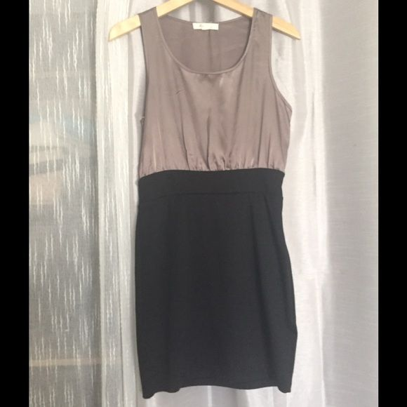 Forever 21 Black Grey Dress Gray Dress 21st Dresses And Silk
