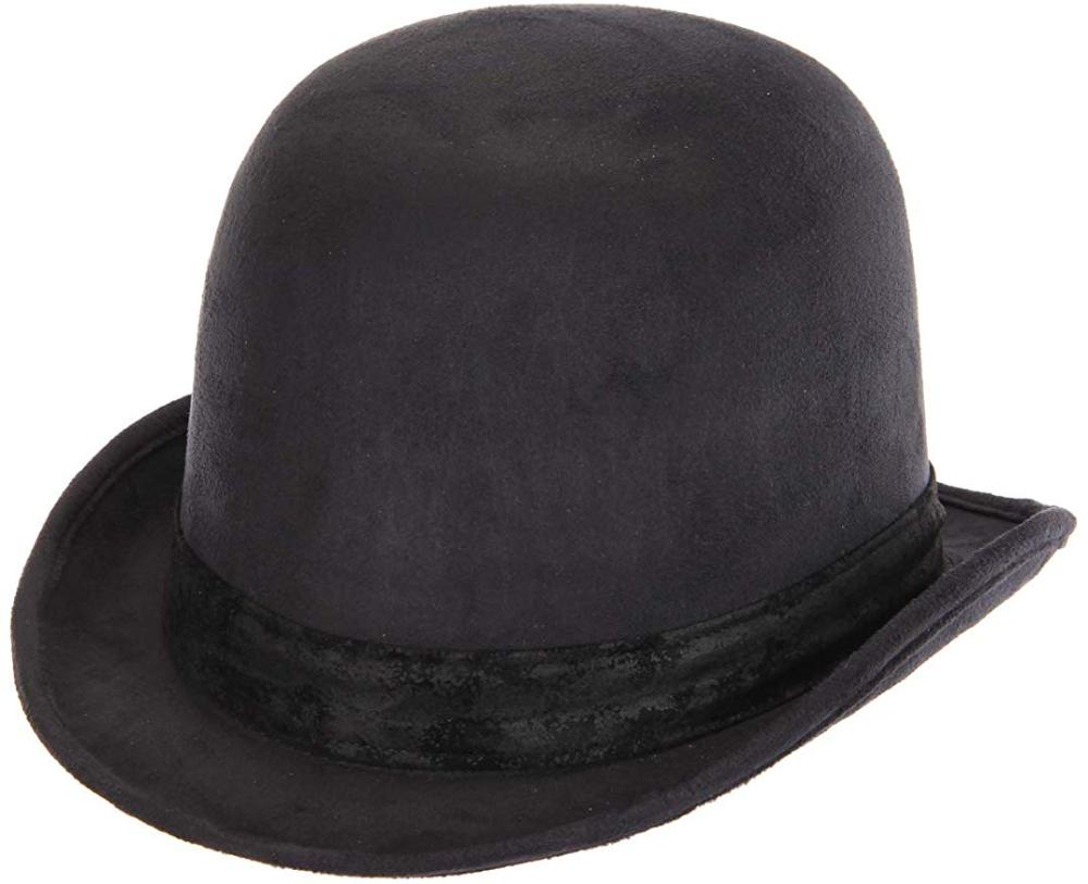 Amazon Com Elope Black Derby Bowler Hat Clothing Bowler Hat Derby Hats Black